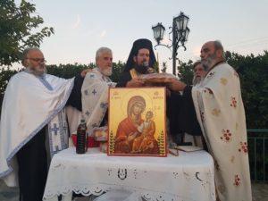 Εορτή της Παναγίας Μυρτιδιώτισσας στην Ι.Μ. Λαρίσης (ΦΩΤΟ)