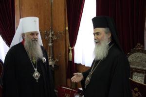 Αγ.Πετρούπολης Βαρσανούφιος: «Τον Πάπα της Ανατολής δεν τον θέλουμε»