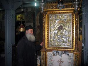 «ΑΞΙΟΝ ΕΣΤΙΝ»- Αγ. Ορος: Σε αυτή την εικόνα  έψαλλε ο Αρχάγγελος Γαβριήλ το τροπάριο