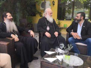 Συνάντηση του Αρχιεπισκόπου με τη διοίκηση της ΚΤΥΠ ΑΕ (ΦΩΤΟ)