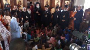 Εορτασμοί για την 14η επέτειο εκλογής του Αλεξανδρείας Θεόδωρου (ΦΩΤΟ)