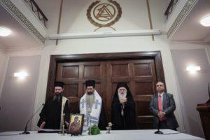 Ο Αρχιεπίσκοπος και ο Επίσκοπος Θεσπιών στον Αγιασμό στο Δικηγορικό Σύλλογο (ΦΩΤΟ)