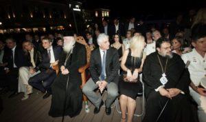 Παρουσία του Αρχιεπισκόπου η αναπαράσταση της Ναυμαχίας του Ναυαρίνου (ΒΙΝΤΕΟ)