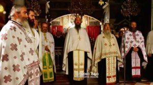 Ιερά Αγρυπνία στην Ευαγγελίστρια Ναυπλίου (ΒΙΝΤΕΟ & ΦΩΤΟ)