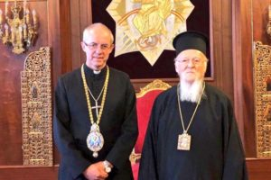 Ο Αρχιεπίσκοπος Κανταουρίας στον Οικουμενικό Πατριάρχη