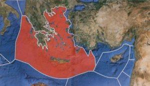 Νέα τουρκική πρόκληση στην Ελλάδα με χάρτες της ΑΟΖ
