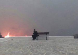 Ο γέροντας Παΐσιος και η ανατριχιαστική φωτογραφία από τη φωτιά στο Μάτι