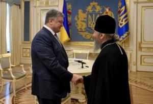 Συνάντηση Ποροσένκο-Ονούφριου και διάψευση για επαφή με Βαρθολομαίο