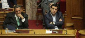 Ο Τσίπρας, ο Καμμένος κι η ενδεχόμενη διάλυση της κυβέρνησης