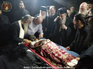 Συγκλονιστικές εικόνες στα Ιεροσόλυμα με το Λείψανο του Αγίου Σάββα (ΒΙΝΤΕΟ & ΦΩΤΟ)