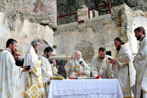 Επίσκεψη του Οικουμενικού Πατριάρχη στην Παναγία Σουμελά