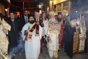 Στιγμιότυπα από την υποδοχή της Τιμίας Ζώνης της Παναγίας στην Τρίπολη