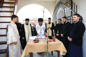 Αγιασμός καμπαναριού και πρεσβυτερίου στο Μιρτσέστι Ρουμανίας (ΦΩΤΟ)