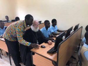 Ο Αλεξανδρείας Θεόδωρος εγκαινίασε Τμήμα Πληροφορικής στην Γκάνα (ΦΩΤΟ)