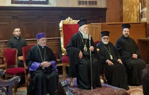Ο Οικ.Πατριάρχης στο βενετσιάνικο νησί San Lazzaro degli Armeni (ΦΩΤΟ)