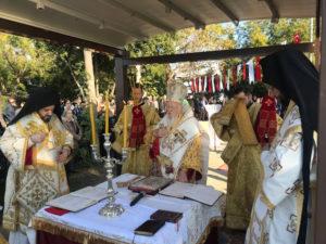 Πατριαρχική Θεία Λειτουργία για τον Άγιο Νεκτάριο στη Σηλυβρία (ΒΙΝΤΕΟ & ΦΩΤΟ)