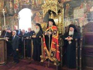 Τα ονομαστήρια του Αρχιεπισκόπου Κύπρου Χρυσοστόμου (ΦΩΤΟ)