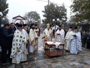 Εγκαίνια Ιερού Ναού από τον Θεσσαλιώτιδος Τιμόθεο (ΦΩΤΟ)