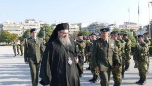 Την 1η Στρατιά επισκέφθηκε ο Μητροπολίτης Λαρίσης Ιερώνυμος (ΦΩΤΟ)