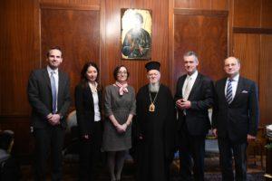 Με τον Βέλγο Πρέσβη συναντήθηκε ο Οικουμενικός Πατριάρχης