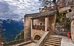 Το μοναστήρι της Παναγίας Πελεκητής στα Άγραφα