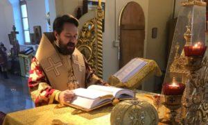 Στη Θεία Λειτουργία στο Πεκίνο χοροστάτησε ο Βολοκολάμσκ Ιλαρίωνας (ΦΩΤΟ)
