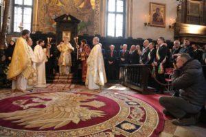 Τα ονομαστήρια του Ιταλίας Γενναδίου παρουσία του Οικ.Πατριάρχη (ΒΙΝΤΕΟ & ΦΩΤΟ)