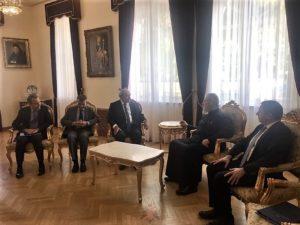 Τον Μάρκο Μπόλαρη υποδέχθηκε ο Κύπρου Χρυσόστομος (ΦΩΤΟ)