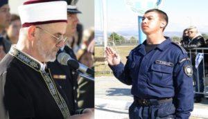 Ορκίστηκε ο πρώτος μουσουλμάνος που μπήκε στην Ελληνική Αστυνομία