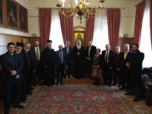 Ο Αρχιεπίσκοπος συναντήθηκε με την επιστημονική ομάδα σύνταξης σχολικών βιβλίων