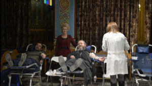 Εθελοντική αιμοδοσία στον Ι.Ν. Αγίου Ελευθερίου Αχαρνών