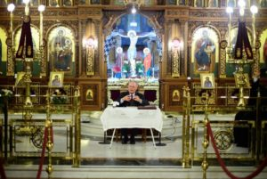 Ομιλία για τον γέροντα Εφραίμ Κατουνακιώτη στον Ι.Ν. Αγίου Ελευθερίου Αχαρνών (ΦΩΤΟ)