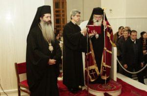 Ο Αρχιεπίσκοπος Ιερώνυμος στη Μονή του Οσίου Πορφυρίου στο Μήλεσι (ΦΩΤΟ)
