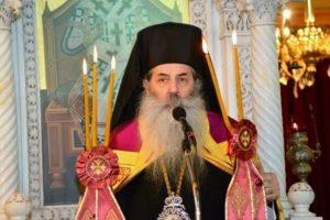 Στον Προφήτη Ηλία Καστέλλας ο Πειραιώς Σεραφείμ