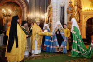 Ο Μόσχας Κύριλλος στην Ιερά Μονή Ντονσκό