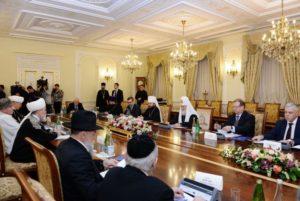 Συνεδρίασε το συμβούλιο θρησκειών της Ρωσίας (ΦΩΤΟ)