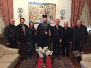Συνάντηση του Κίτρους Γεωργίου με το νέο Δ.Σ. της Ενωσης Ποντίων Πιερίας