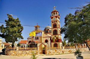 Οι Άγιοι Πέντε Μάρτυρες από την Καππαδοκία στο Πολύστυλο Καβάλας