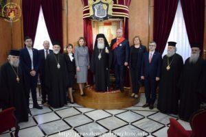 Στο Πατριαρχείο Ιεροσολύμων ο Πρόεδρος της Μολδαβίας Igor Dodon