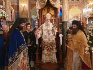 Ο εορτασμός του Αγίου Νικολάου στο Ναύσταθμο Σαλαμίνας (ΦΩΤΟ)