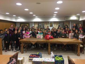 Μαθητές δημοτικού επισκέφτηκαν τη Μητρόπολη Λαρίσης (ΦΩΤΟ)