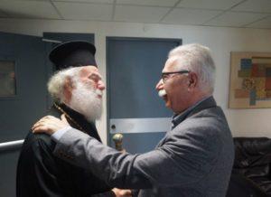 Σε θερμό κλίμα η συνάντηση Γαβρόγλου με τον Αλεξανδρείας Θεόδωρο
