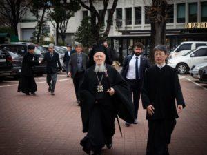 Πατριάρχης Βαρθολομαίος: Ελπίζω για την ενότητα της Κορέας
