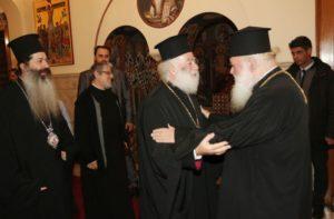 Συνάντηση του Αρχιεπισκόπου με τον Αλεξανδρείας Θεόδωρο (ΦΩΤΟ)