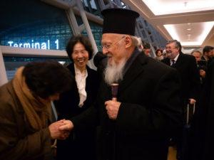 Υποδοχή του Οικουμενικού Πατριάρχη στη Σεούλ (ΦΩΤΟ)