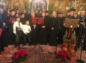 Χριστουγεννιάτικα Μελωδήματα στον Αγιο Σπυρίδωνα Πύργου (ΦΩΤΟ)