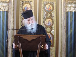 Αρχιμ. Δανιήλ Αεράκης: «Η εξουσία του Χριστού είναι η διακονία»