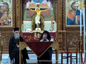 Ο Καθηγούμενος της Συνοδικής Μονής Οσίου Συμεών στη Μητρόπολη Αρτης (ΦΩΤΟ)