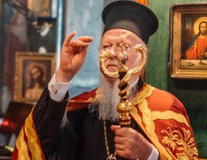 Ο Βαρθολομαίος στο Βατοπαιδινό Μετόχι του Αγίου Ανδρέα στο Γαλατά