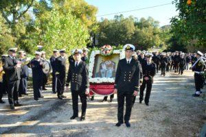 Εορτή του Αγίου Σπυρίδωνα στο Ναύσταθμο Σαλαμίνας (ΦΩΤΟ)